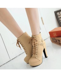 Ankle Boot Bege Carls