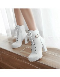 Ankle Boot Branco Anne