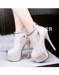 Ankle Boot Branco Cloud