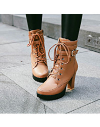 Ankle Boot Marrom Anne