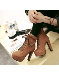 Ankle Boot Marrom Carls
