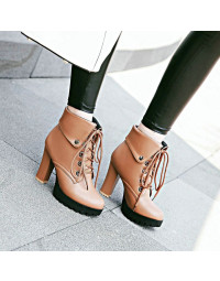 Ankle Boot Marrom Klein