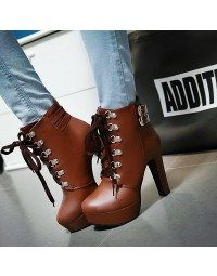 Ankle Boot Marrom Thabata