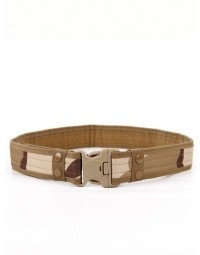 Cinto Masculino Bege Army Camouflag Militar