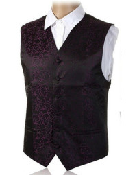 Colete Masculino Slim Fit Gusleson Roxo