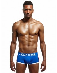 Cueca Boxer Azul Jockmail Brother