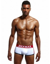 Cueca Boxer Branca Jockmail Brother