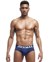 Cueca Brief Azul Jockmail Basic