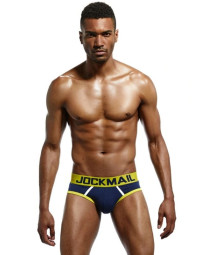 Cueca Brief Azul Jockmail Power