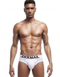 Cueca Brief Branca Jockmail Basic