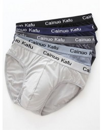 Kit Cuecas Brief Cainuo Kafu