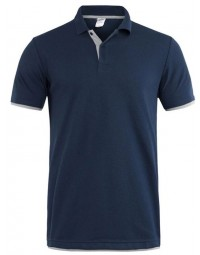 Polo Masculina Azul Marinho Grey The Flex