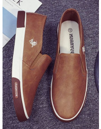 Sapatênis Masculino Marrom Loafer