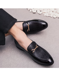 Sapato Masculino Loafer Preto Oxford
