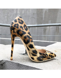 Scarpin Animal Print Savanna