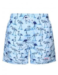 Short Masculino Flamingo Azul