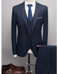 Terno Masculino Azul Slim Fit Londres