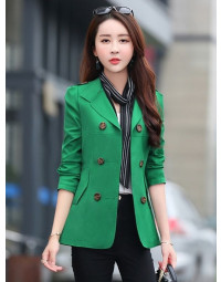 Trench Coat Feminino Verde Gyovanna