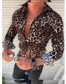 Camisa Masculina Estampa Animal Print