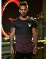 Camiseta Masculina Vinho Gyms Tight