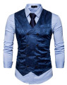 Colete Masculino Azul Social Waterford